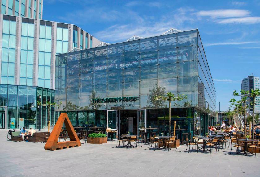een circulair bouwen gebouw in amsterdam
